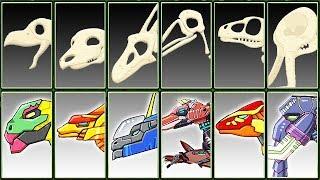 Archaeologist Jurassic + Dino Robot Corps #6 | Eftsei Gaming