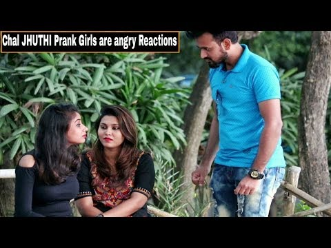 Chal JHUTHI Prank On Girl s Angry Reactions Gone Wrong Pranks In India By TCI