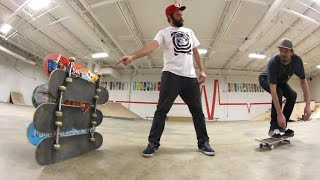 PROVE HOW HIGH YOU CAN OLLIE! / Warehouse Wednesday!
