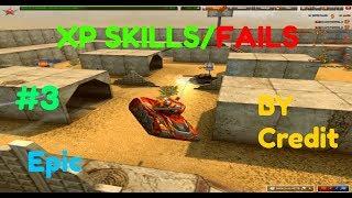 TANKI ONLINE XP Skills, Fails By Credit #3