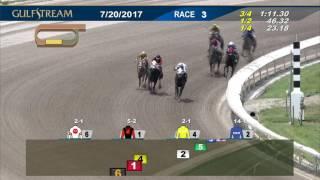 Gulfstream Park Race 3 | July 20, 2017