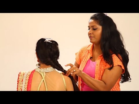 Xxx Mp4 Simple Indian Hairstyle Step By Step Hairstyle For Indian Weddings To Do Yourself Fishtail Braid 3gp Sex