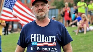 Some Trump voters believe Clinton should be executed for treason