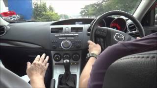 Mazda test MPS 3.wmv