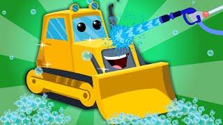 Bulldozer | Car Wash | Construction Vehicle
