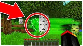 WE FOUND GREEN STEVE IN MINECRAFT!