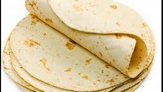 How To Make Homemade Flour Tortillas (easy recipe ) - طريقة تحضير خبز التورتيلا