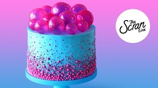 BUBBLE POP ELECTRIC CAKE- The Scran Line