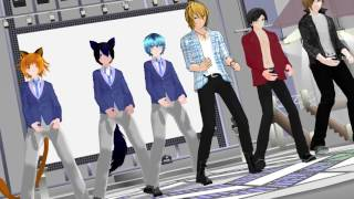 [MMD] Talk dirty to me | aphmau boys