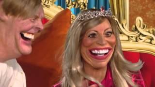 Willem-Alexander en Máxima op de vrijmarkt | Wat een Poppenkast