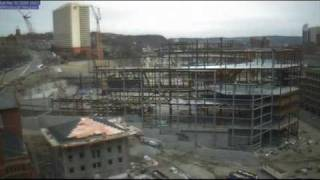 Consol Energy Center - Pittsburgh Penguins Arena Timelapse 2008-09