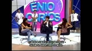Simone e Simaria no Ênio Carlos (TV Diário) - PARTE 2
