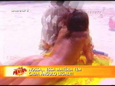 sabrina sato marlene mattos praia de nudismo panico na tv 2003