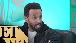 ET LIVE with Craig David Talking About HIs New Album