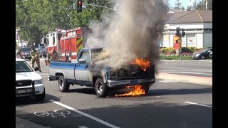 Truck on Fire - Crazy Quick Firefighters