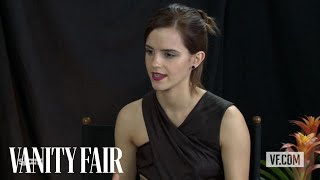 "Emma Watson Talks to Vanity Fair's Krista Smith About ""The Perks of Being a Wallflower"""