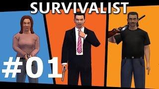 Survivalist Let's Play #01 – Zombies und Überlebende [GERMAN FULL HD]
