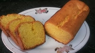 Bakrey Plain Pound Cake ( Cooking With Fouzia )