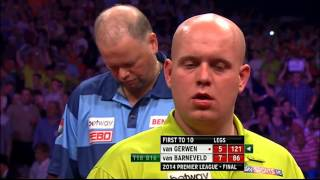 Michael van Gerwen v Raymond van Barneveld | FINAL | Premier League Darts 2014
