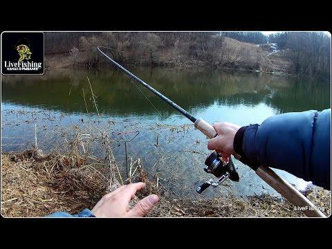ловля на пробку на реке