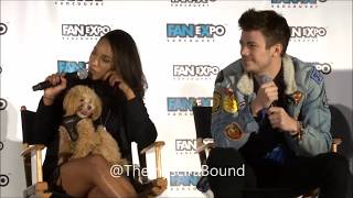Grant, Candice & Tom Discusses Filming The Flash in Vancouver - Fan Expo Vancouver 2017
