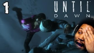 MAKING ALL THE WRONG CHOICES ALREADY! | Until Dawn (Part 1)