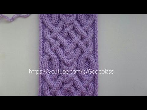 аранское вязание плетенка
