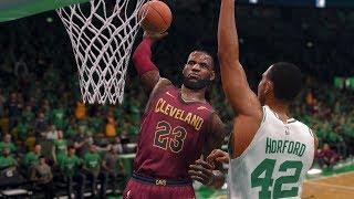 NBA LIVE 2018 Playoffs Cleveland Cavaliers vs Boston Celtics Full Game 7 NBA Finals NBA LIVE 18