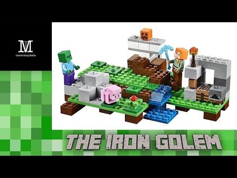 Xxx Mp4 LEGO Minecraft The Iron Golem 21123 Stop Motion Quick Build 3gp Sex