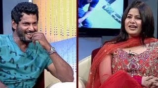 Natchathira Jannal - With Actor Vishal - Part 1
