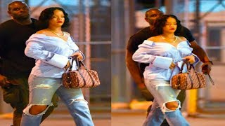 SHOCKING! Is Rihanna Pregnant?