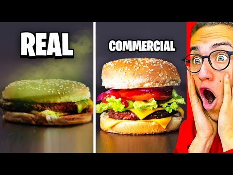 Reacting To INSANE COMMERCIALS VS. REAL LIFE