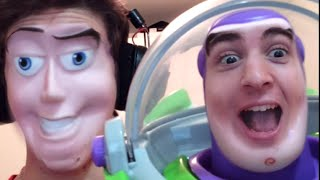 FACE SWAP ASSURDI! (w/ Buzz Lightyear)