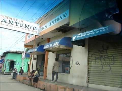 Recorrido por Usulután.Usulután El Salvador recorrido por las calles de Usulután