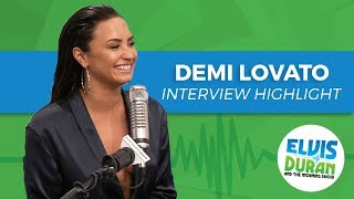 Demi Lovato Reveals Her Only Two Vices   Elvis Duran Interview Highlight