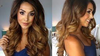 Big Glamorous Curls | Lilly Ghalichi Inspired | Alexandrea Garza
