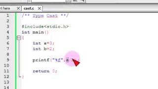 Bangla C programming tutorial  22  Type Cast