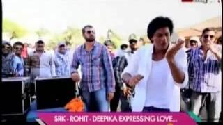 Deepika Padukone punches Shahrukh Khan on the last day of 'Chennai Express' shoot