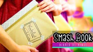 Album Scrapbook para armar: Diario de viaje ¡Ven conmigo! Smash book ✎ Craftingeek
