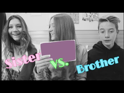 Who knows me better Sister vs Brother Riley Lewis