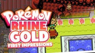 Pokemon RhineGold - Pokemon Fan Game First Impressions/Showcase