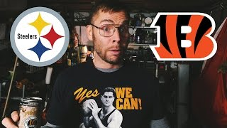 Dad Reacts to Steelers vs. Bengals Playoff Game