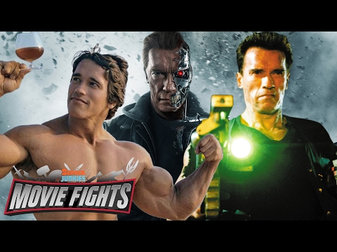 What Schwarzenegger Character Would Win in a Battle Royale MOVIE FIGHTS