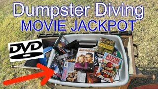 Dumpster Diving Found DVD Movies #55