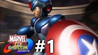 Marvel vs Capcom: Infinite - Story Mode Part #1