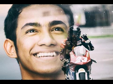 Pembalap Indonesia Andi Gilang Juara 1 di MotoGP Malaysia kelas ATC