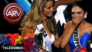Roselyn Sánchez reacciona a error de Miss Universo 2015 | Al Rojo Vivo | Telemundo