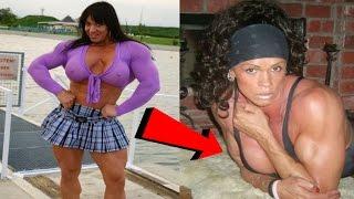 Dünyanın En Kaslı Vücuduna Sahip 5 Kadın