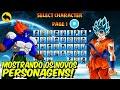 AtualizaÇÃo! Power Warriors, Mostrando Todos Os Personagens, Golpes E Especiais!!!