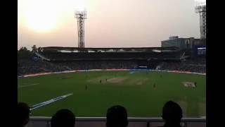Barinder Sran Bowling - Eden Gardens, Kolkata - KKR vs. SRH IPL T20 2016 Match